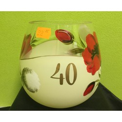 """Jubiliejinė vaza """"40"""""""