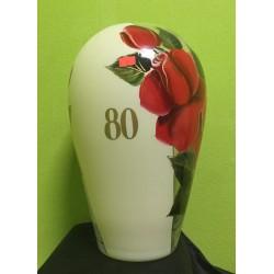 """Jubiliejinė vaza """"80"""""""