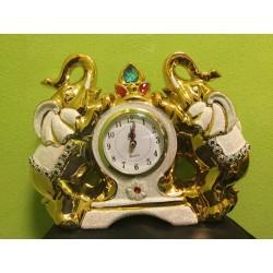 Laikrodis - auksiniai drambliai